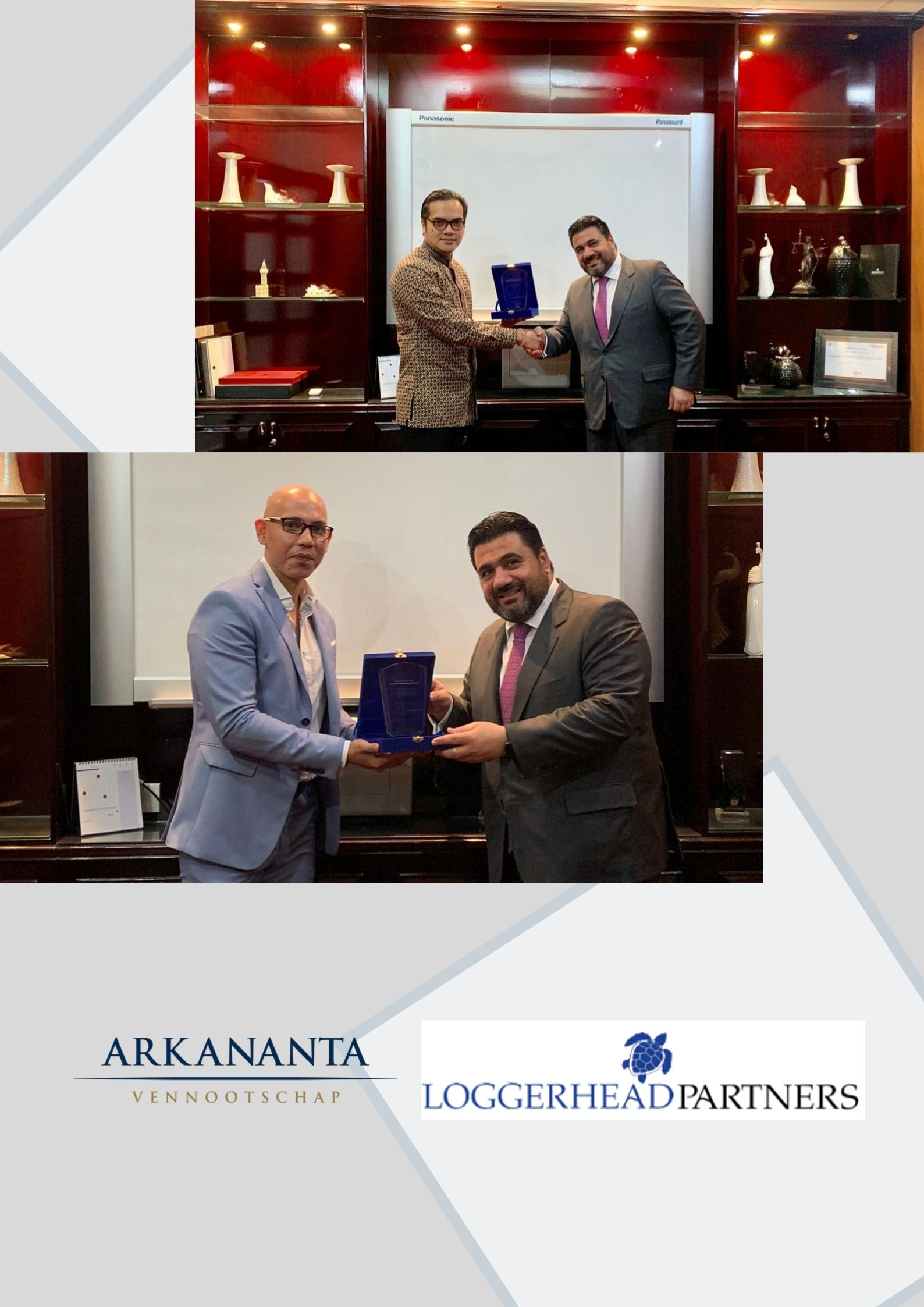ARKANANTA IS NOW IN COLLABORATION WITH LOGGERHEAD PARTNERS